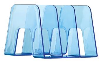 Han Boekensteun transparant blauw
