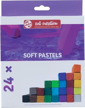 Talens Art Creation softpastels, doos met 24 stuks in geassorteerde kleuren
